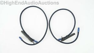 AudioQuest Water RCA Interconnect Cables 1 Meter Pair Audiophile