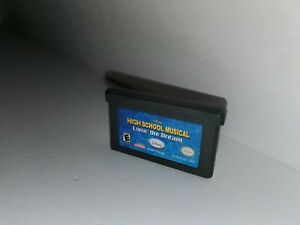 High School Musical livin the Dream Gameboy Advance Game Cartridge Tested B5