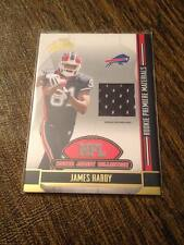 2008 ABSOLUTE JAMES HARDY ROOKIE RC JERSEY PATCH RELIC!!!! BILLS!!!