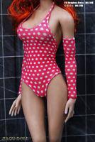 "JIAOU DOLL JOA-30B 1/6 Strapless Dress Bikini Beach Skirt Fit 12"" PH TBL Body"