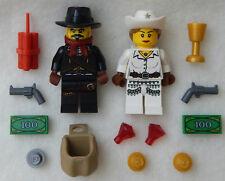 NEW LEGO COWBOY WEDDING COUPLE MINIFIGS figures minifigures bride groom lot