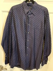 Men's Zanella dress shirt L