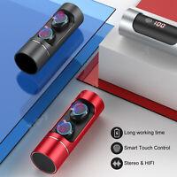 TWS Mini True Wireless Bluetooth Stereo Headphones Touch Headset Sports Earbuds