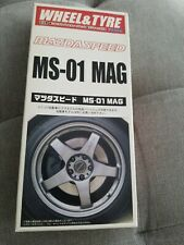 Fujimi 1/24 17 Inch Mazdaspeed MS-01 Mag Wheel & Tyre 19258