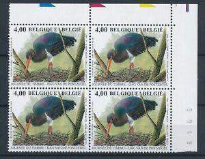 [34938] Belgium 2005 Birds Buzin Good block of 4 Very Fine MNH stamps