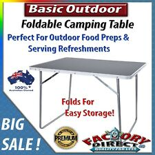 Basic Foldable Outdoor/ Indoor Camping Table Food Preps Serving Family Parties