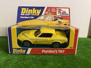 DINKY 112 PURDEY'S TR7