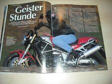 MO Magazin 1831) Laverda Ghost 650 mit 64PS im TEST auf 3 Seiten