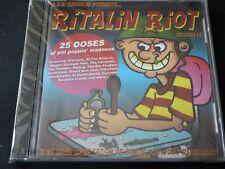 Various - Ritalin Riot NEW CD AT THE DRIVE IN  DIGGER DILLINGER FOUR FAIRLANES