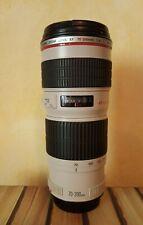Obiettivo Canon EF 70-200 F4L USM Ultrasonic Condizioni Eccellenti
