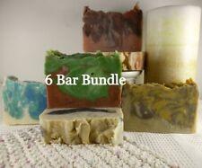 Free Gift with 6 Bar Bundle Choice Natural Goat Milk Soap Organic Homemade