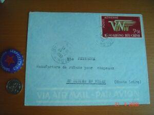 Vietnam 1953 Postal History, Import-Export Commission, Collectible Empty Envelop