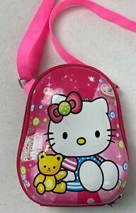 "Hello Kitty Hard Shell Camera Case, Electronics, Toys, Purse 7"" Princess #21H"
