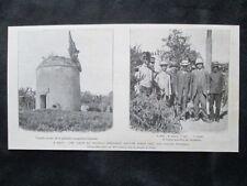 Haiti: visita del presidente Antoine Simon ai coloni francesi Stampa del 1909