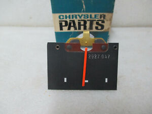 Mopar NOS 1969-70 Plymouth Fury Ammeter 40 AMP Gauge 2927047