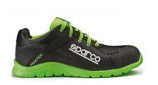 Scarpe antinfortunistiche Sparco Practice nero verde fluo tg 40-41-42-43-44-45
