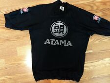 Atama Fight Gear  Black Short Sleeve Shirt Top  Size Youth Large