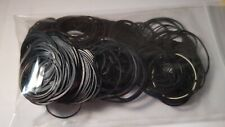 Unbranded bag of O ring rubber watch case back gaskets washers various sizes. 1
