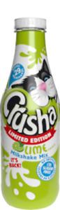 Crusha Lime Milkshake Mix New 740ml green Limited Ed - SUGAR FREE!!! BB Aug 2021