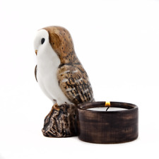 Quail Ceramics - Barn Owl Tea Light