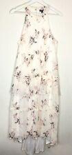 Torrid Floral Chiffon Maxi Dress High Neck Tiers Torrid 00/ M/10 NWT