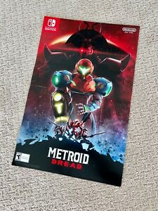 Metroid Dread Poster 11x17 - Nintendo New York Store Exclusive