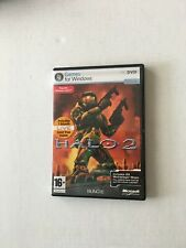 Halo 2 PC DVD-ROM Microsoft Game Studios Bungie 2007 Windows Vista W/ Code
