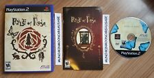 RARE NTSC US Rule Of Rose for Sony Playstation 2 PS2 & 60GB PS3 FREE UK P&P