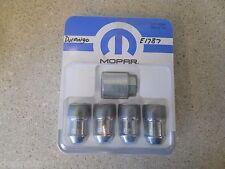 MOPAR 82212564 M14 x 1.5 / '11-16 Dodge Durango / Jeep Wheel Locks Lug Nuts