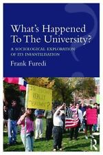 WHAT?S HAPPENED TO THE UNIVERSITY?
