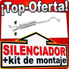 Silenciador Intermedio OPEL CORSA B TIGRA 1.4 44/60KW 1.6 78/80KW 93-00 TUD