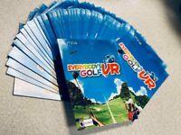 Everybody's Golf PlayStation VR - 2019 PSVR Full Game Download Key Card
