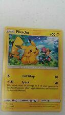 Pikachu (29/30) Promo -SM Trainer Kit Lycanroc & Alolan Raichu-NM-Pokemon