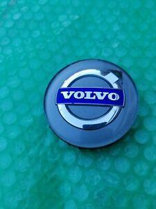 Volvo S40 S60 S80 V40 V50 V60 V70 CENTER CAP HUB CAP BLUE GREY OEM HUBCAP RIM