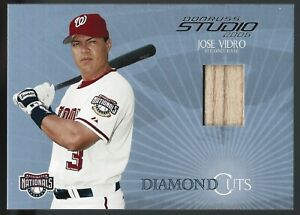 Jose Vidro 2005 Studio Diamond Cuts Bat 216/300 Card# DC-23