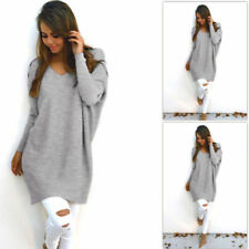 Unbranded Cotton V Neck Long Sleeve Jumpers & Cardigans for Women