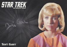 Star Trek TOS Archives & Inscriptions -Teri Garr Silver Autograph AB EXCLUSIVE