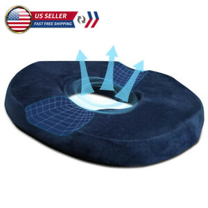 Donut Pillow Seat Cushion Hemorrhoid for Office Chair Memory Foam Pain Relief