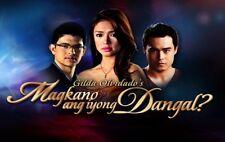 Magkano Ang Iyong Dangal? Complete Set Filipino TV Series DVD teleserye