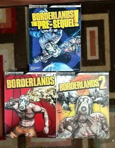 Borderlands/Borderlands 2/BorderlandsThe Pre-Sequal Official Strategy Guide Lot