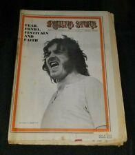 Rolling Stone magazine  #41 September 6 1969 Joe Cocker cover  Bill Graham Fonda