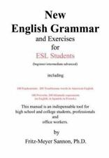 New English Grammar for Esl Students by Fritz-Meyer Sannon (2004, Hardcover)