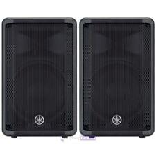 YAMAHA DBR12 coppia diffusori casse speaker attivi amplificati bass reflex 465W