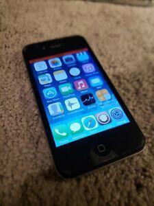 Apple iPhone 4 - 16GB - Jailbroken - Black (Verizon) A1349 (CDMA)