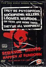 STRANGE THINGS HAPPEN AT SUNDOWN   J.Scott Green / Masha Apron  NEW SEALED