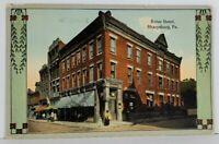 Sharpsburg Pa Ritter Hotel c1920 to Cheswick Postcard N10