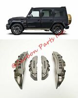 3D BRABUS BRAKE CALIPER COVERS Mercedes Benz W463 W221 W212 W204 W219 C292 W140