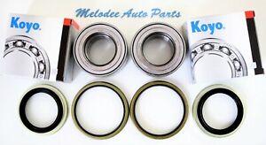 2 OEM KOYO  Front Wheel Bearing & Seal Set For TOYOTA TACOMA / TUNDRA / SEQUOIA