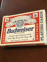 Vintage Budweiser Advertising Playing Cards