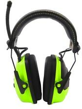 2x Howard Leight SYNC Digital Radio AMFM Earmuff Hi Vis w/MP3 Jack Protect Sport